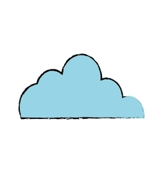Clouds weather sky vector