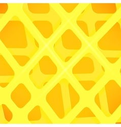Crossed lines abstract yellow cover background vector