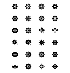Flowers and Floral Icons 1 vector