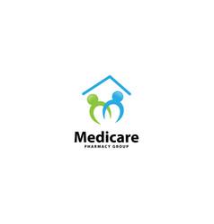 Medical clinic logo design template vector