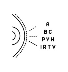 Optometry vector