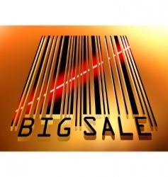 Sale barcode vector