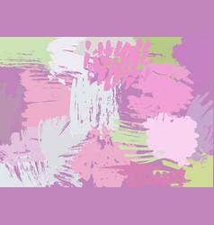 Modern brush background vector