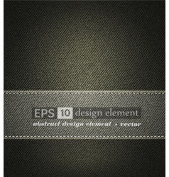 background with gray jeans texture vector image vector image