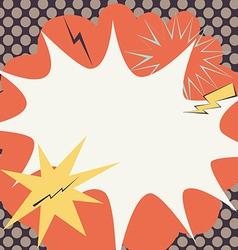 Grunge Comic Cartoon Effects vector image