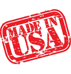 Made in the USA stamp vector image vector image