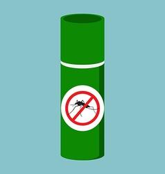 Mosquito spray bottle vector