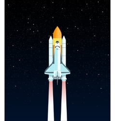 Space Shuttle vector image