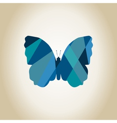 Abstract the butterfly vector image