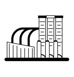 Factory industrial icon imag vector