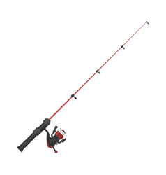 fishing rod vector image