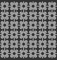 seamless celtic knot pattern vector image