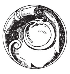 Serpent symbol is a snake signifying the essence vector