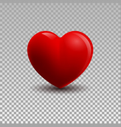 3d of a heart vector image vector image