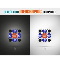 Modern Geometric Design template vector image vector image
