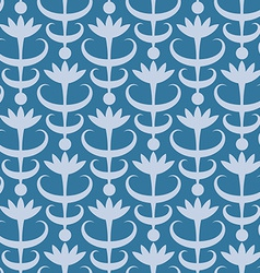 Abstract floral seamless pattern Classic ornament vector image