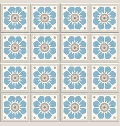 Ancient floor ceramic tiles vector