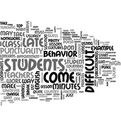 Better late then never text word cloud concept vector