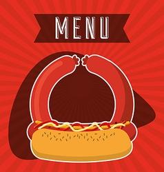 Butchery menu vector