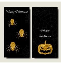 Happy Halloween Collections banner vertical vector image vector image