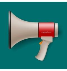 Megaphone for digital marketing concept vector