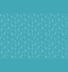 seamless geometric background in polygonal style vector image