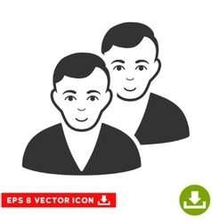 Users EPS Icon vector