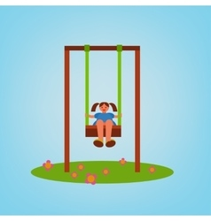 Children Playground 01 A vector image vector image