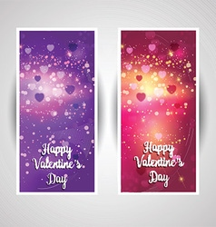 Valentines day backgrounds 1301 vector image vector image