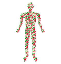 Arguments person figure vector