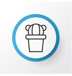 cactus icon symbol premium quality isolated vector image