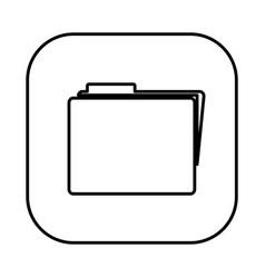 figure symbol file icon vector image