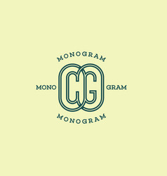Monogram cg vector