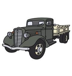 Old truck vector