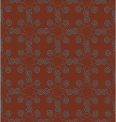 Pattern grey brown vector
