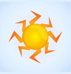 sun image vector image