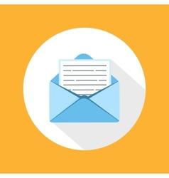 Envelope message vector image