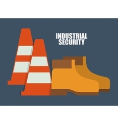 Cone boots icon Industrial graphic vector