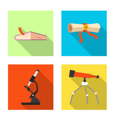 design of education and learning symbol vector image
