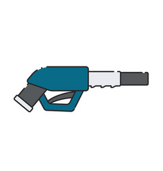 fuel pump gun icon vector image
