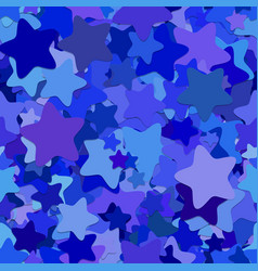 Seamless geometrical star background pattern vector