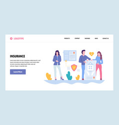 web site gradient design template family vector image