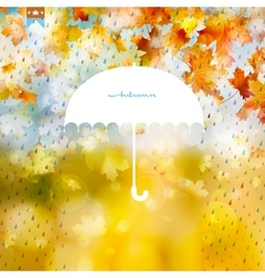 Abstract background with rain pattern EPS 10 vector image