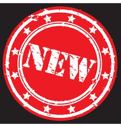 New stamp vector image