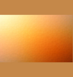abstract orange mosaic polygonal background vector image