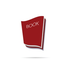book icon color vector image