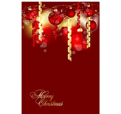 Christmas background image vector image