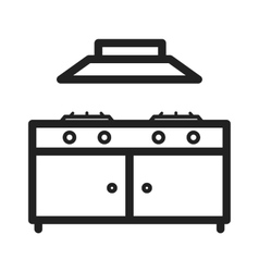Cooking Stove vector image