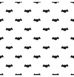 Handshake pattern simple style vector