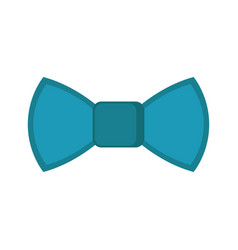 isolated bowtie icon vector image